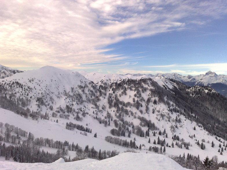 Soriska Planina snow