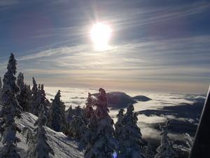 opening day, Mount Washington photo