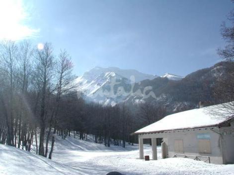 Monte Sirino snow