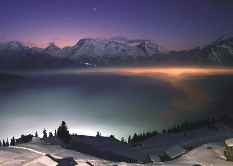 Belalp - Blatten - Naters snow