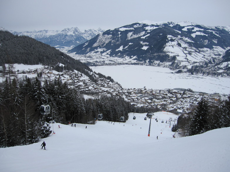 Zell am See snow