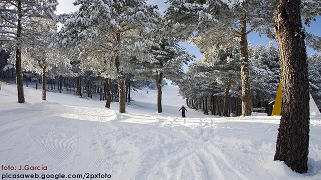gentle slopes, Manzaneda