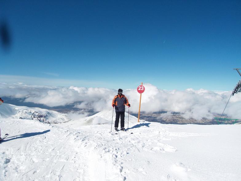 The Top of Ejder, Mt Palandöken