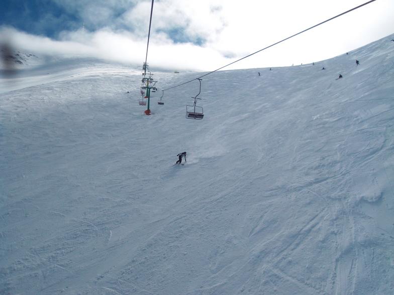 a part of Ejder Pist, Mt Palandöken
