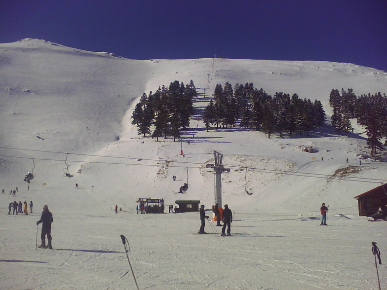 helmos nice day, Kalavryta Ski Resort