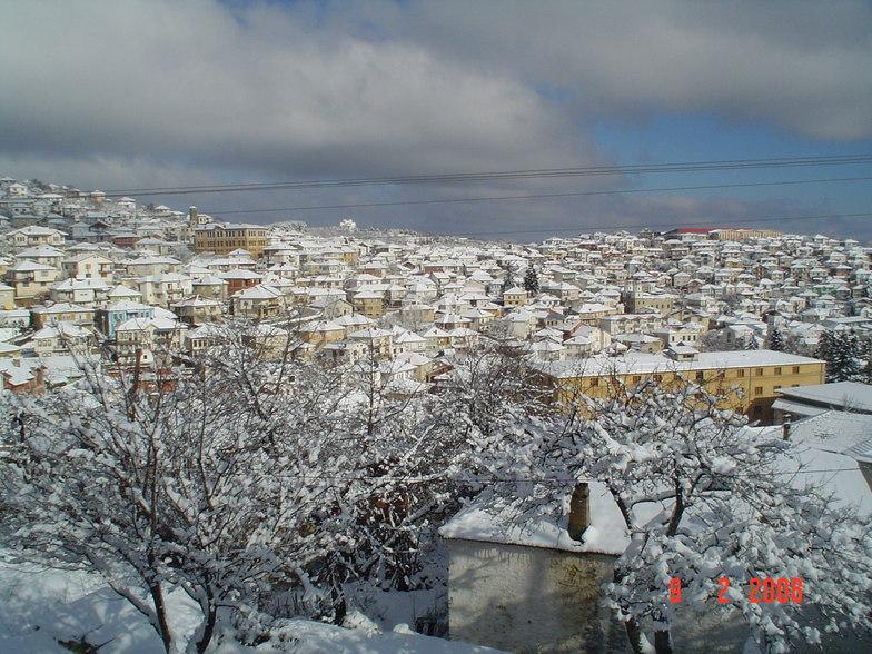 Krushevo in winter