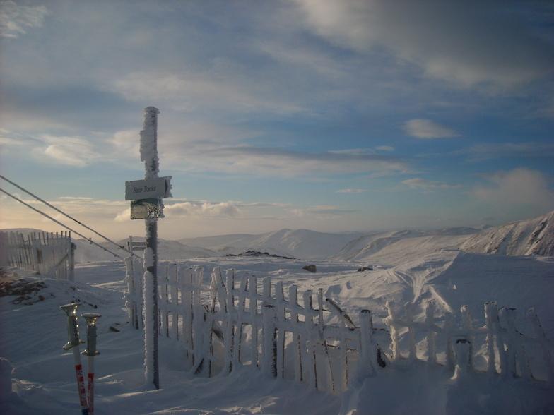 Glenshee snow