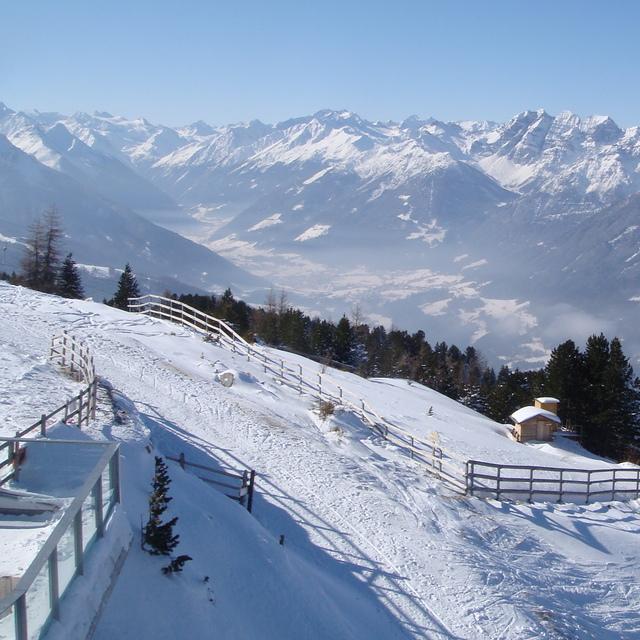 Panorama of Patscherkofel,february 2010