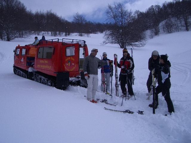 snow bus, 3-5 Pigadia
