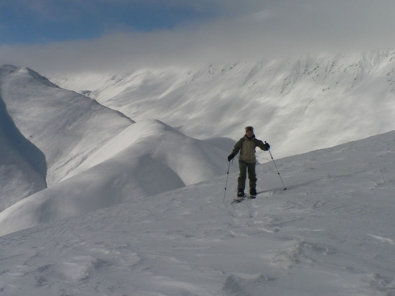 Back country on a Voile Split, Roundhill