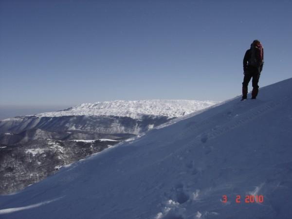 View of Menikio mountain, Lailias