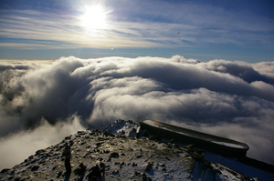 on cloud nine!, Snowdon photo