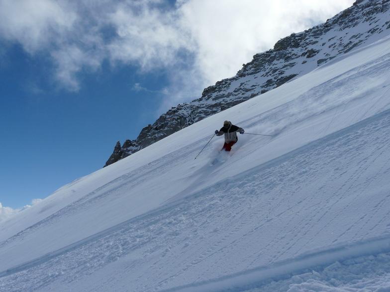 Powder in Austria, Hintertux