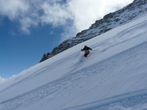 Powder in Austria, Hintertux photo