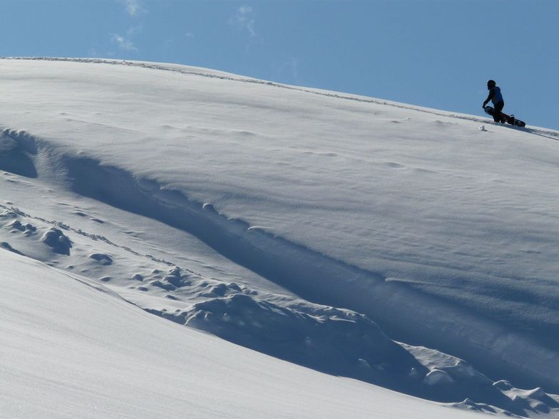 Looking for the best descent, Hintertux