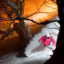 Japan snowboarder, Niseko Weiss