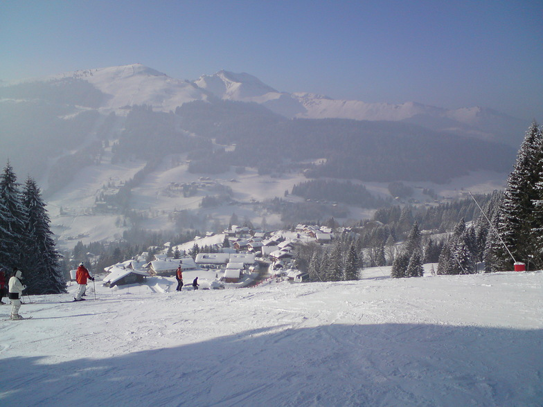 Mont Cherie in the distance, Morzine