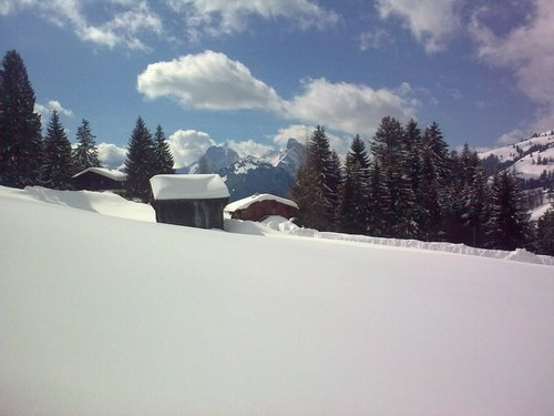 Gstaad Ski Resort by: J-J C-Edwards