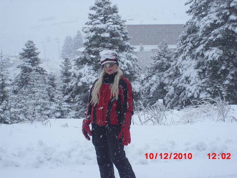 first snow fall of 2010, Uludağ
