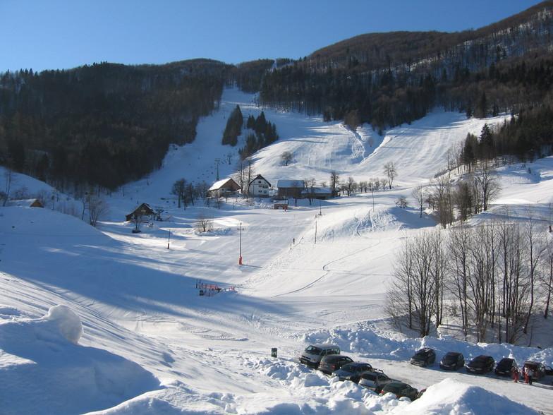Javornik - Crni Vrh snow