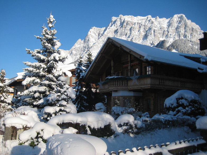 Ehrwald snow
