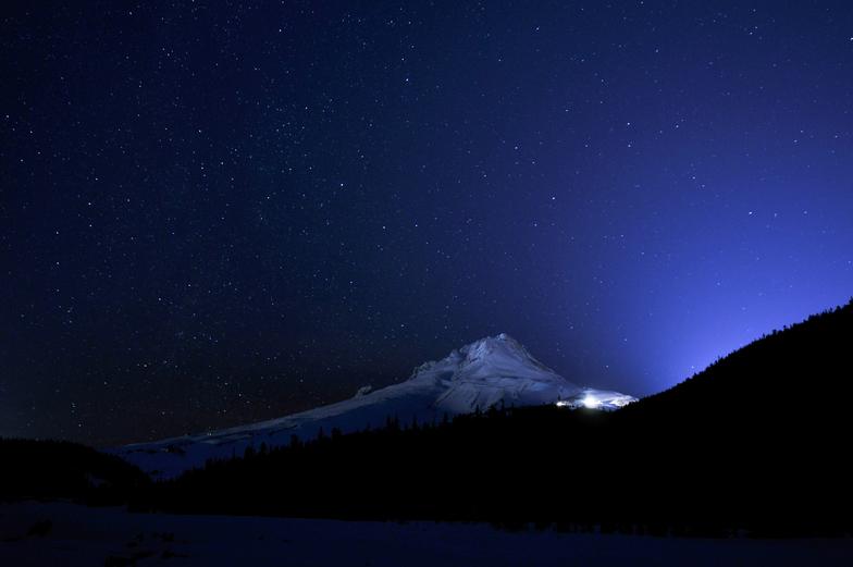 Stars Over Mt.Hood Meadows, Mt Hood Meadows