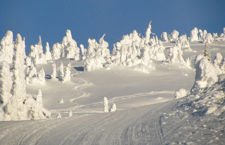Big White snow