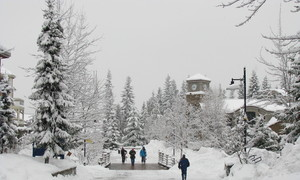 Village walk Whistler photo