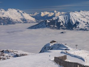 Above the Clouds, La Toussuire (Les Sybelles) photo
