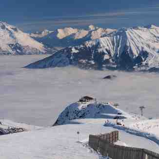 Above the Clouds, La Toussuire (Les Sybelles)