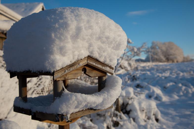 December snow in south Wales, Pen-y-Fan