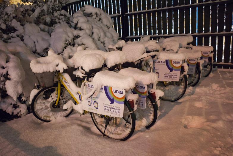 Cardiff Bay Snow, Pen-y-Fan