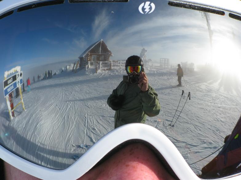 Goggle view, Apex Resort
