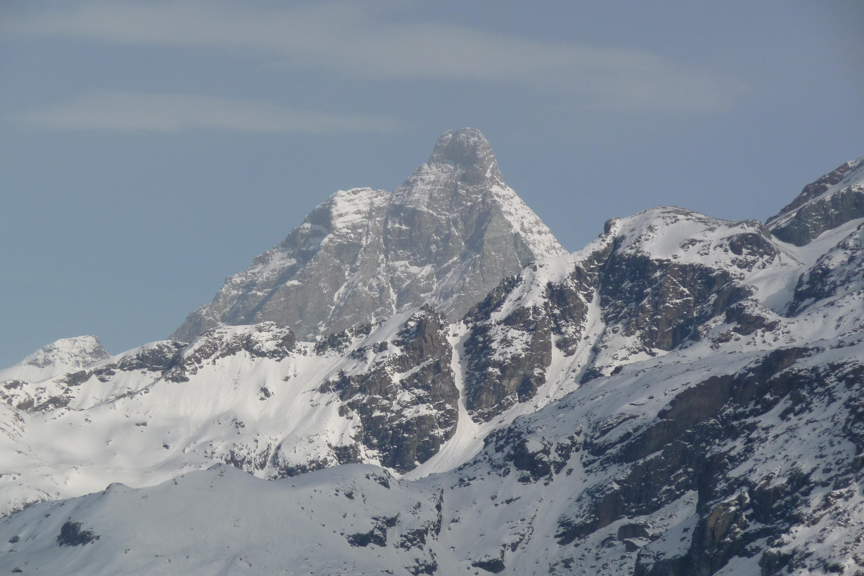 View of Matterhorn from Champoluc