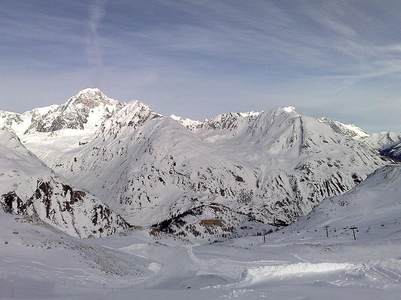 le mont blanche, La Thuile