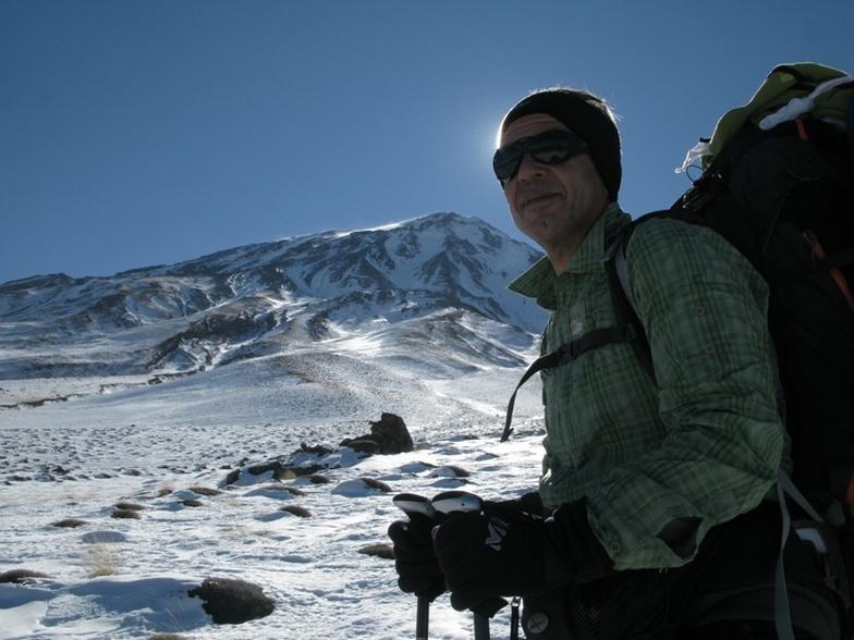 NORTH Damavand 2010 11 26, Mount Damavand