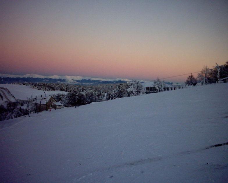 Sunset, Semenic