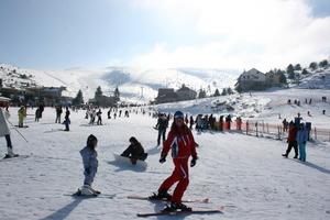 ski lesson, Seli photo