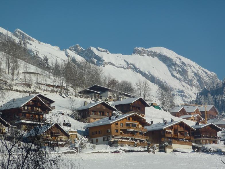 Le Grand Bornand snow