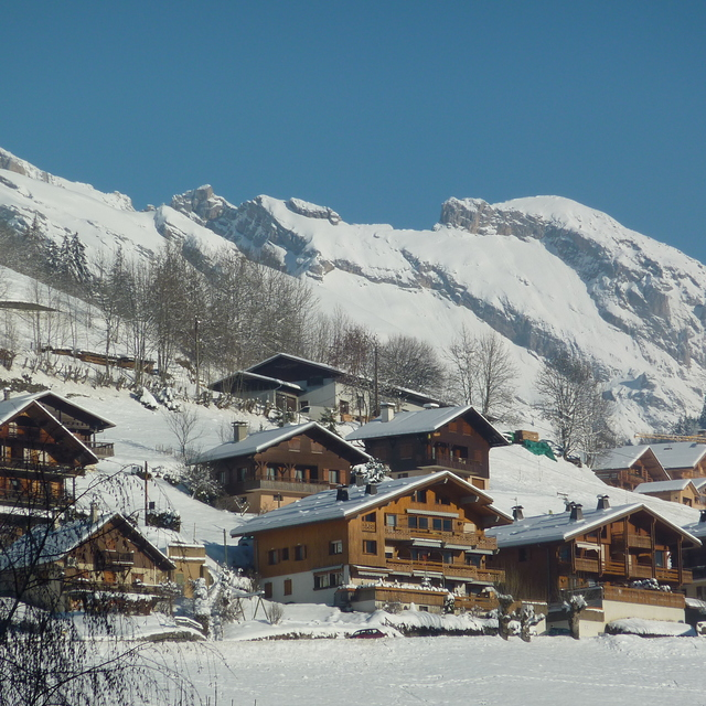 Village of Le Grand Bornand