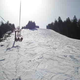 Predeal lift and black run