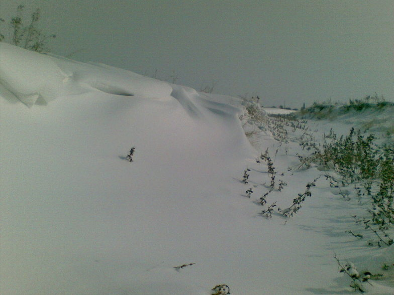 Efect of wind over Snow!   Iran/Hamedan/Asad Abad/Musi Abad vilg., Mount Damavand