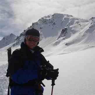 Caroline under Sentishorn,Davos