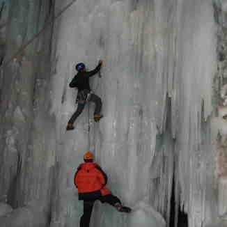 ice climbing, Shemshak