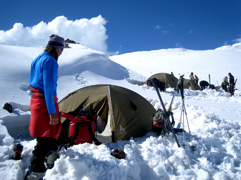 Mt. Ararat ski high camp - 3.750 m, Ağrı Dağı or Mount Ararat
