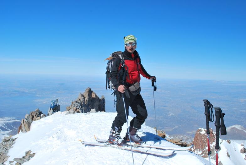 Ski touring Mt. Erciyes, Erciyes Ski Resort