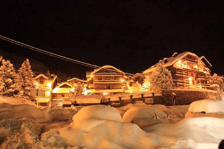 Grandvalira-Canillo snow