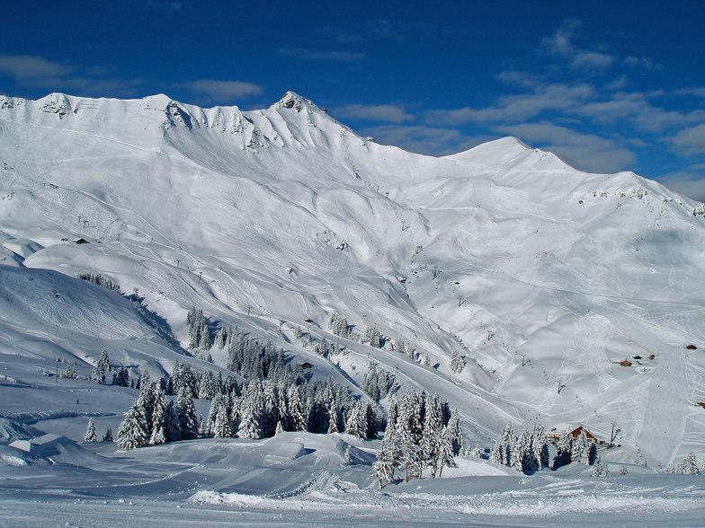 Champéry snow