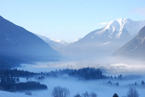 Seefeld misty morning photo