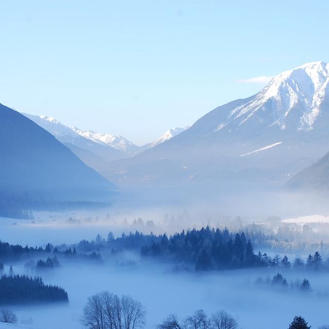 Seefeld misty morning